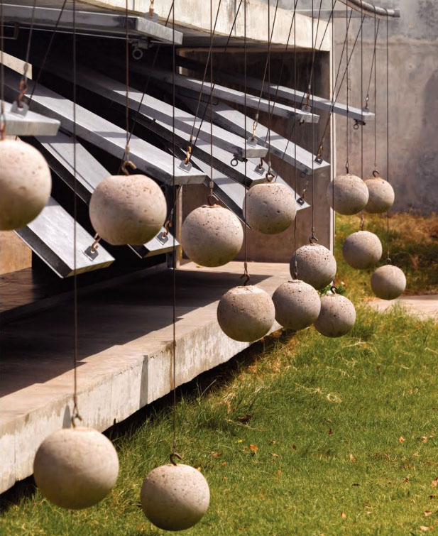 Beautiful House With Balls By Matharoo Associates