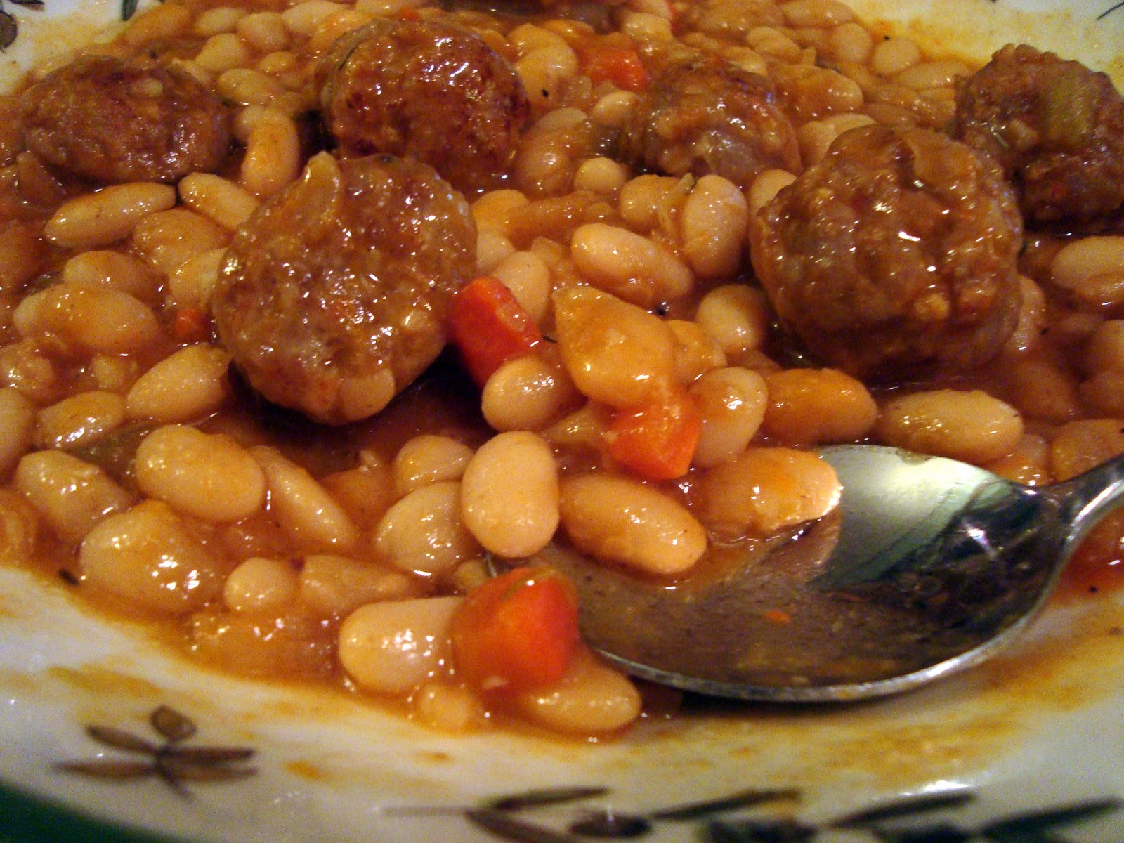 Couple in the Kitchen: Herbed White Bean and Sausage Stew