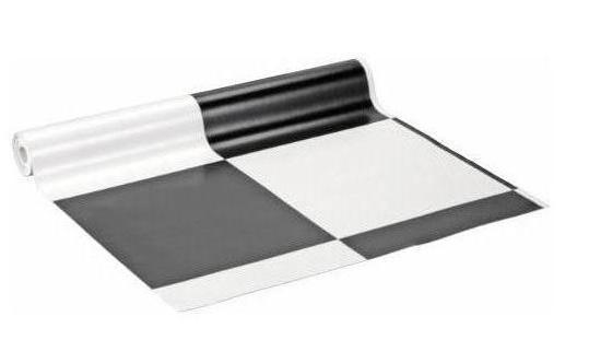 Vinyl vloerbedekking zwart wit zwart wit vinyl keuken atumre