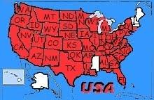 besuchte U.S. Staaten