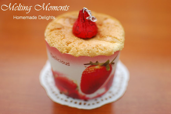 Melting Moments - Homemade Delights