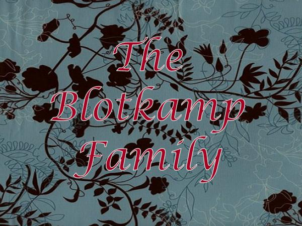 The Blotkamp Family Blog