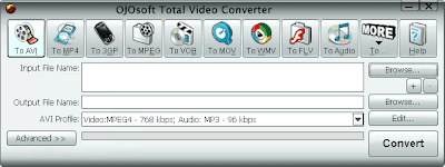 baixebr converter OJOsoft Total Video Converter 2.7.1 Compatível com Windows 7, XP e Vista destaque video gravacao cddvd downloads