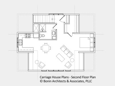 Carriage house building plans floor plans for Post and beam carriage house plans
