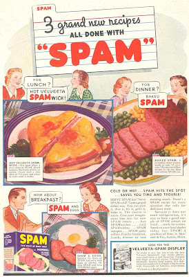 SPAM Without A Doubt One Of Americas Most Well Known Pop Culture Sensations The Above Ad Is From 1938 How Many Us Grew Up