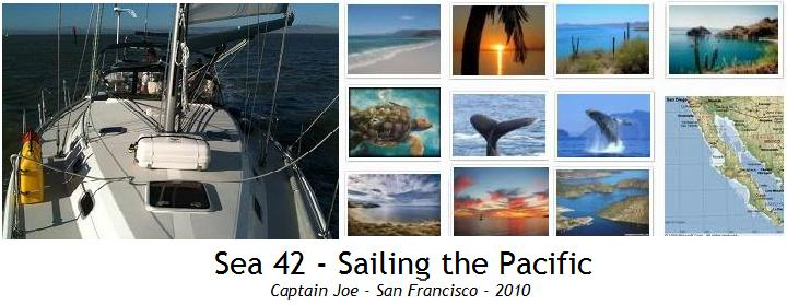 s/v Sea42 - sailing the Pacific