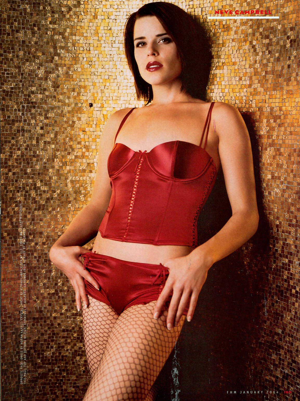 Female Celebrity Portraits] Actress: Neve Campbell