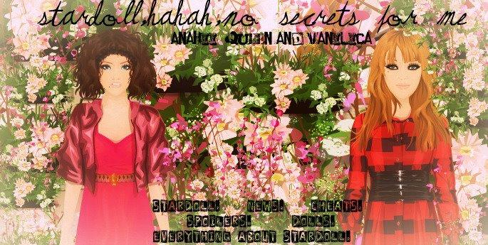 Stardoll,Hahah,no Secrets for me