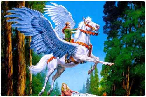 Imgenes de pegasos y unicornios. (33 elementos)