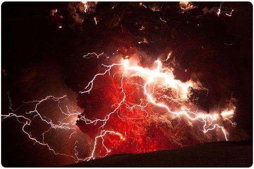 Nuevas fotografías del volcán Eyjafjallajökull Islandia