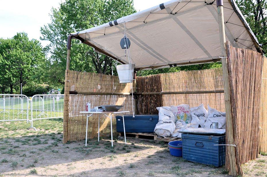 Campamento de refugiados en Montreal by Médecins Sans Frontières