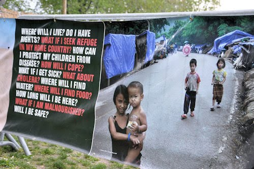 Campamento de refugiados by Médicos Sin Fronteras (17 fotos en total)