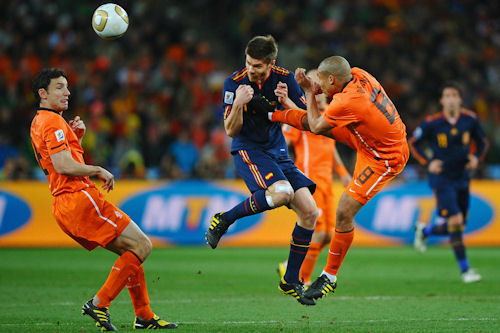Clausura de la Copa de Fútbol Soccer Sudáfrica 2010
