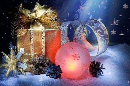 Especial de Navidad y Fin de Año (Esferas y Regalos)   Banco de ...