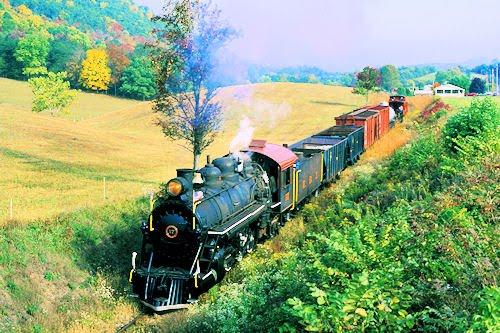 Trenes y locomotoras V (Fotografías de caballos de hierro)