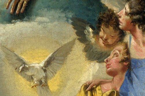 Imágenes, frescos y pinturas católicas I (5 elementos)