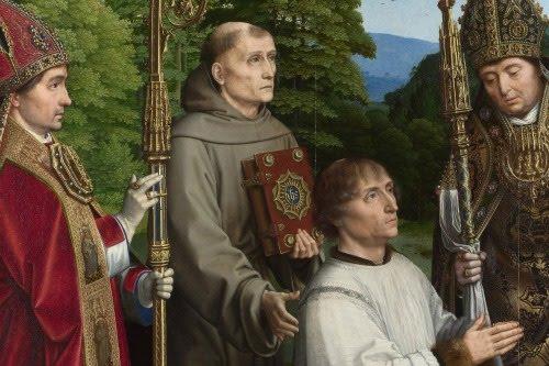 Imágenes, frescos y pinturas católicas III (7 lienzos)
