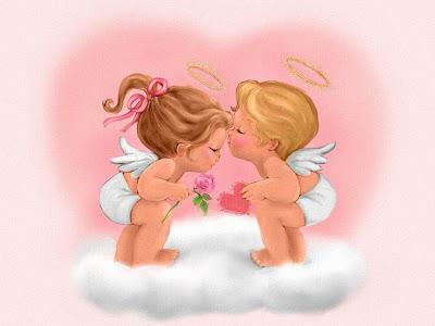 Imágenes de cupidos para el 14 de febrero (San Valentín)