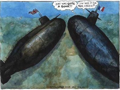Steve bell's Cartoon