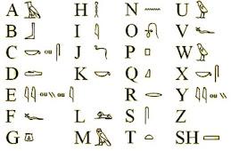 O teu nome em Hieroglifos