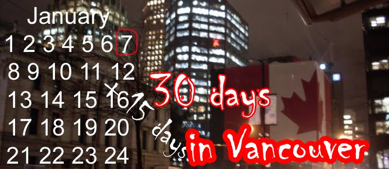 30 days in Vancouver