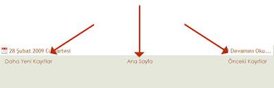 önceki daha yeni kayıtlar,anasayfa ikon değiştirme