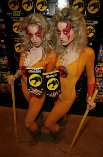 Thundercats Girl on Thundercat Girls Are Loose In London