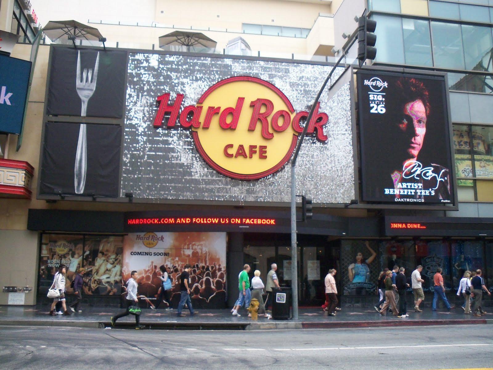 Hotels Near Hard Rock Cafe Hollywood Ca