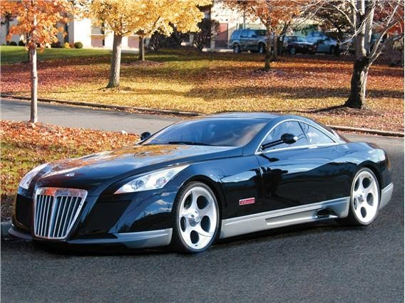 voiture de luxe maybach exelero prix. Black Bedroom Furniture Sets. Home Design Ideas