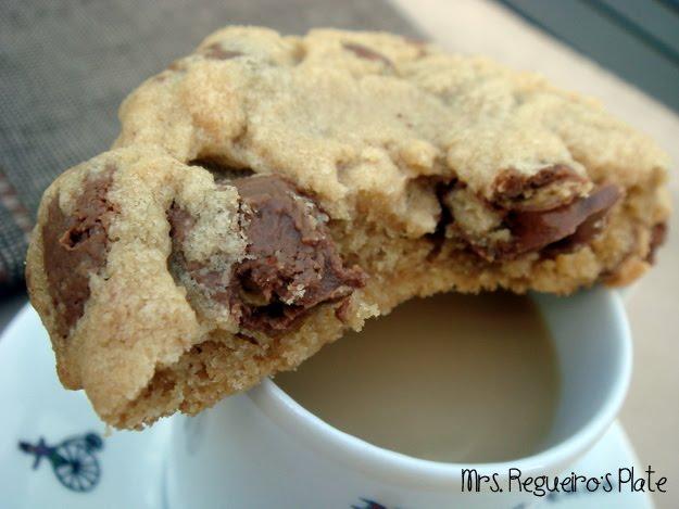 Mrs. Regueiro's Plate: Chocolate Peanut Butter Cup Cookies