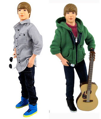 Justin Bieber Singing Doll on Justin Bieber Singing Figure Collection Dolls Have Been Nominated For
