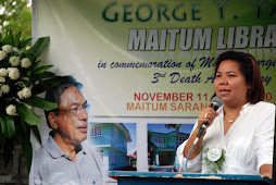 Tribute to former Mayor George Yabes