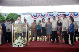 Gov. Migs Dominguez oath taking as third term governor