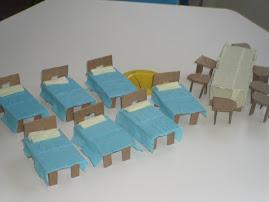 móveis da casa dos anões