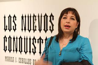 EXPOSICION LOS NUEVOS CONQUISTADORES MARINA SALINAS
