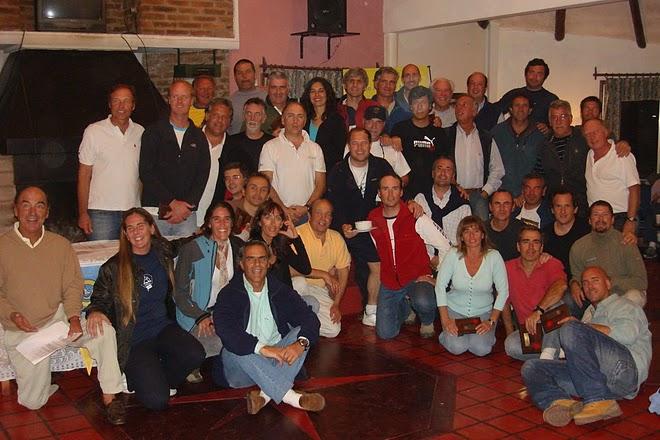 54 Timoneles en el Barrancas Abr 2009