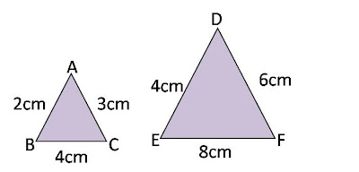 Corresponding Angles And Sides Side Angle Side Similarity
