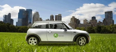 Zipcar used by New York City Employees