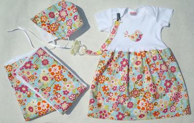 handmade baby gift set
