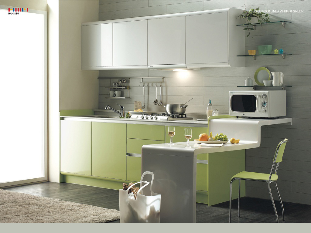 Trend home interior design 2011 desain interior dapur for Dapur kitchen set