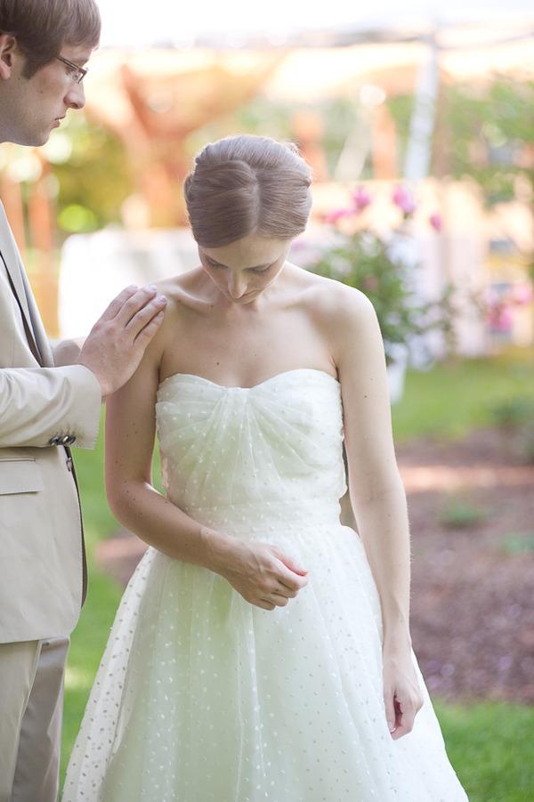 Design gem dotted swiss organza beautiful textured fabric for Dotted swiss wedding dress