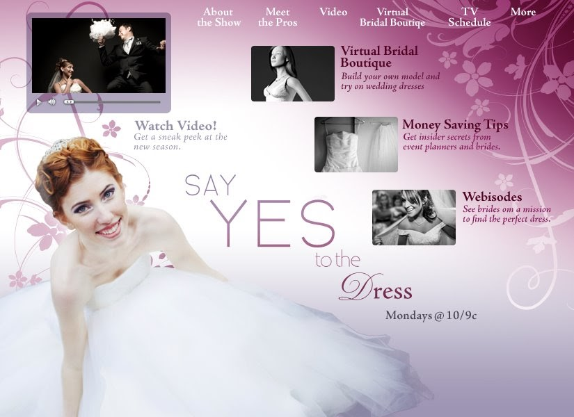 Saint louis bride magazine tlc 39 s new say yes to the for Virtual try on wedding dress