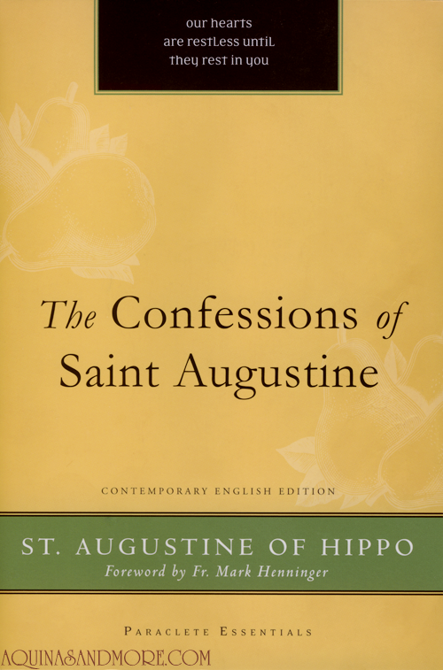 an analysis of the accounts of death in augustines confessions The woman of augustine of hippo converted to christianity only shortly before his death, but monica, augustine's mother was a augustine, confessions.