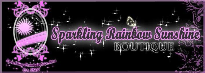 Sparkling Rainbow Sunshine Boutique