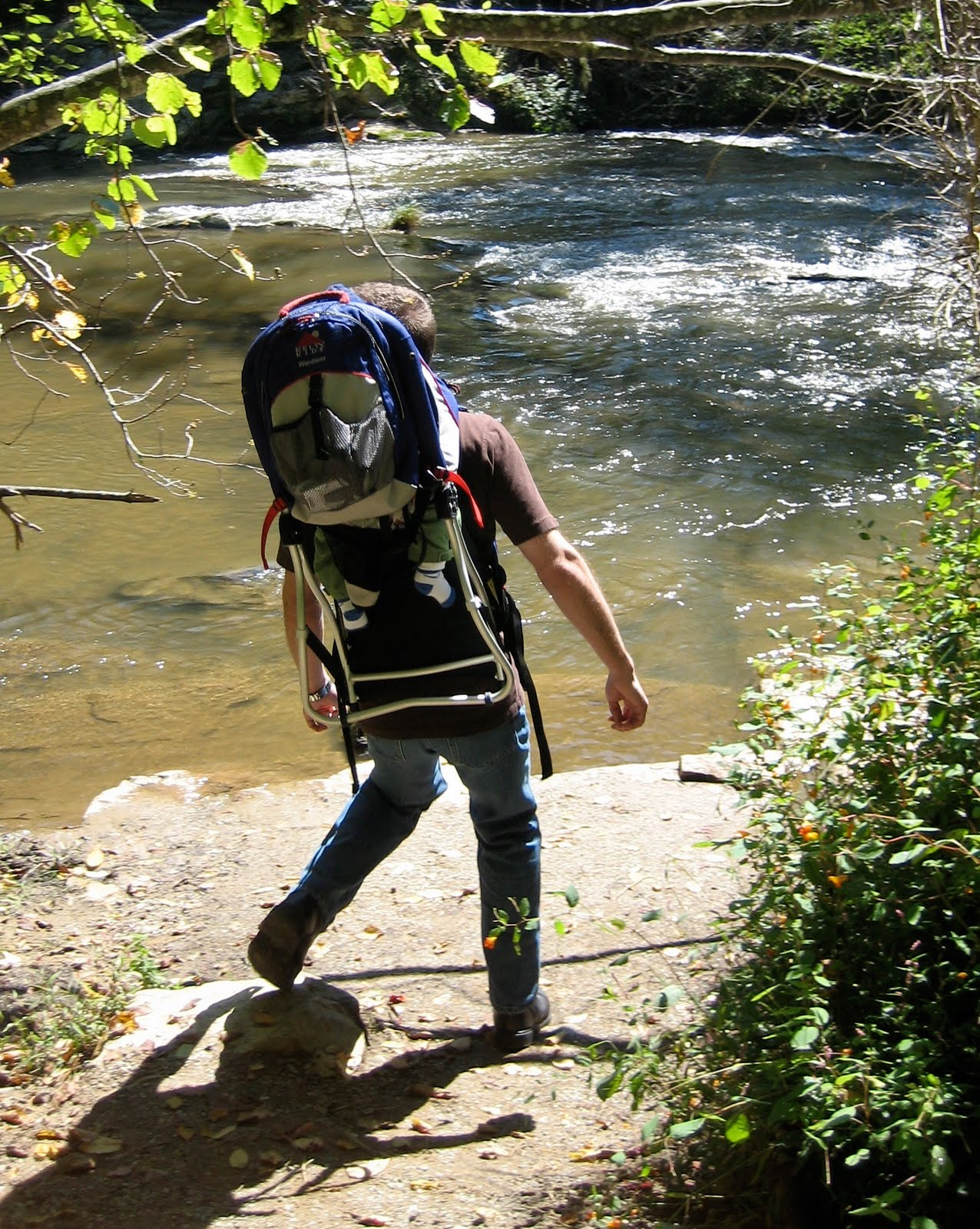 the wellness without pity blog backpacking in your own backyard