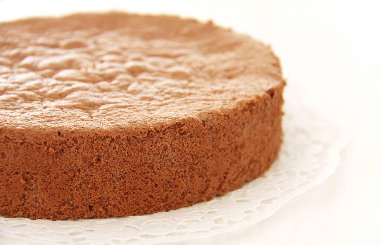 Life is Like a Long Journey: Oil-less Chocolate Sponge Cake