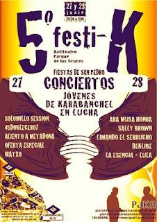 5 festival en Carabanchel Alto