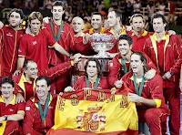 España, campeones de la Copa Davis 2008