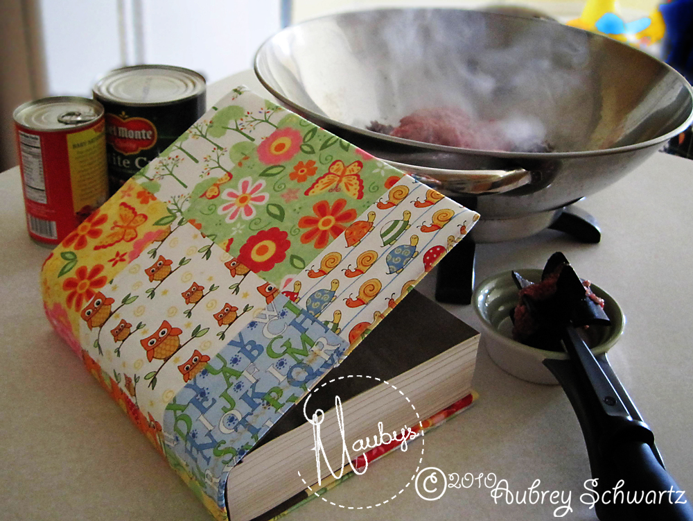 Book Cover Tutorial Java ~ Mauby s charming books for cooks a book cover