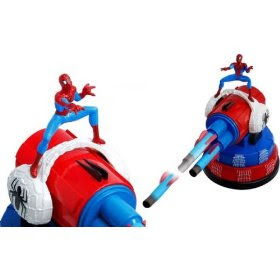 Dream Cheeky Spiderman USB Missile Launcher Toy